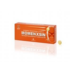 MOMENXSIN 200 MG/30 MG COMPRESSE RIVESTITE CON FILM 12 COMPRESSE IN BLISTER PVC/PVDC/AL
