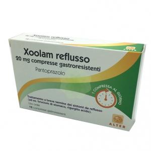 XOOLAM REFLUSSO 20 MG COMPRESSE GASTRORESISTENTI, 12 COMPRESSE IN BLISTER PA/AL/PVC-AL