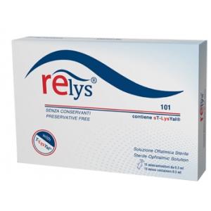 RELYS MONODOSE SOLUZIONE OFTALMICA 15 MINICONTENITORI DA 0,5 ML SENZA CONSERVANTI