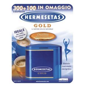 HERMESETAS GOLD 300+100 COMPRESSE 20 G