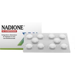 NADIONE 40 COMPRESSE