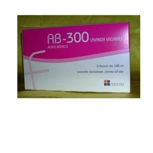 AB 300 LAVANDA VAGINALE 5 FLACONI 140 ML