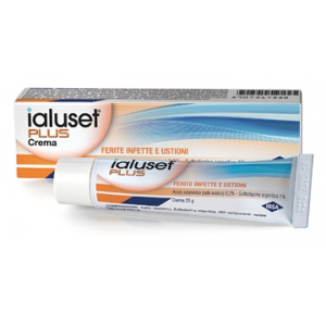 IALUSET PLUS CREMA MEDICAZIONE 25 G