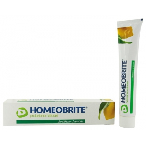 HOMEOBRITE DENTIFRICIO AL LIMONE 75 ML
