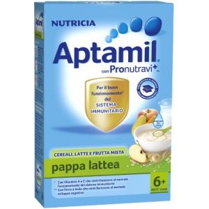 APTAMIL PAPPA LATTEA CEREALI, LATTE E FRUTTA MISTA 250 G