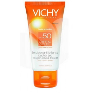 IDEAL SOLEIL VISO DRY TOUCH SPF50 50 ML