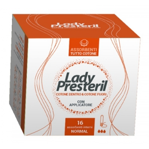 LADY PRESTERIL ASSORBENTI INTERNI NORMAL 16 PEZZI