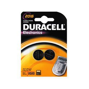 DURACELL SPECIALITY 2016 2 PEZZI