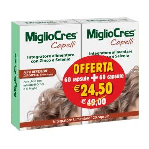 MIGLIOCRES 60+60 CAPSULE 60 G PROMOZIONE