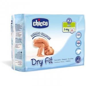 CHICCO DRYFIT PANNOLINO MINI 25 PEZZI