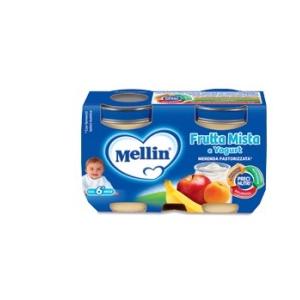 MELLIN MERENDA YOGURT FRUTTA MISTA 120 G X 2 PEZZI