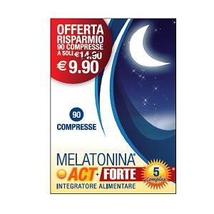 MELATONINA ACT 1MG + FORTE 5 COMPLEX 90 COMPRESSE