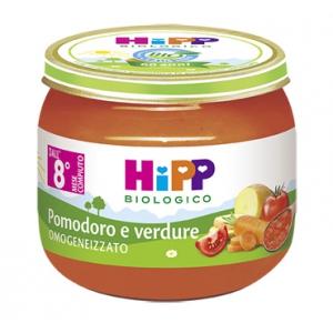 HIPP BIO HIPP BIO OMOGENEIZZATO SUGO POMODORO VERDURE 2X80 G