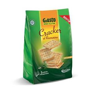 GIUSTO SENZA GLUTINE CRACKER ROSMARINO 180 G