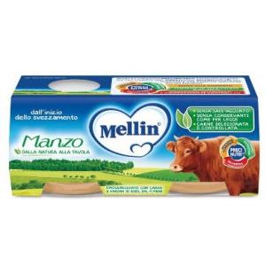 MELLIN OMOGENEIZZATO MANZO 2X120 G