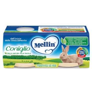 MELLIN OMOGENEIZZATO CONIGLIO 2X120 G