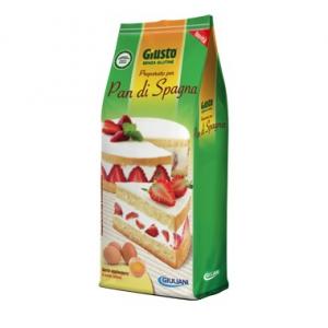 GIUSTO SENZA GLUTINE PREPARATO PAN DI SPAGNA 480 G