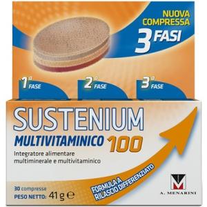 SUSTENIUM MULTIVITAMINICO 100 %