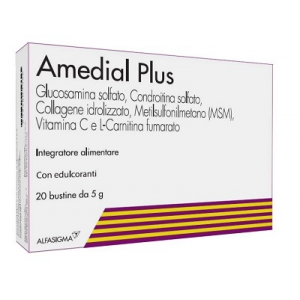 AMEDIAL PLUS 20 BUSTINE 5 G