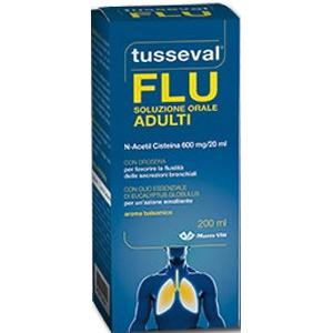 TUSSEVAL SOLUZIONE ORALE ADULTI 200 ML