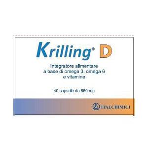 KRILLING D 40 CAPSULE