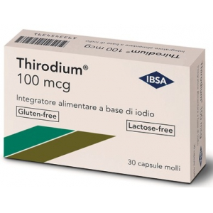 THIRODIUM 100MCG 30 CAPSULE