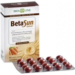 BIOSLINE BETA SUN GOLD 60 CAPSULE 34 G