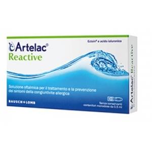 ARTELAC REACTIVE SOLUZIONE OFTALMICA MONODOSE 20 UNITA' DA 0,5 ML