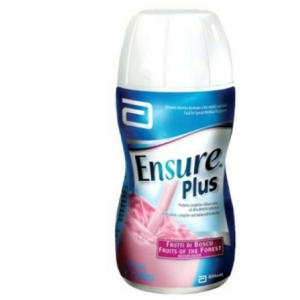 ENSURE PLUS FRUTTI DI BOSCO 4 BOTTIGLIE DA 200 ML