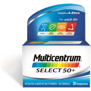 MULTICENTRUM SELECT 50+ 30 COMPRESSE