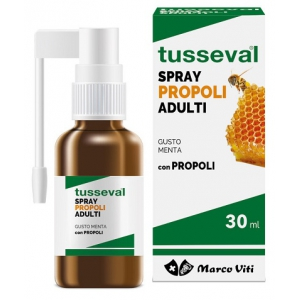 TUSSEVAL GOLA PROPOLI SPRAY PER ADULTI 30 ML