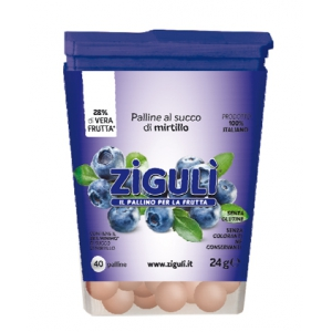 ZIGULI MIRTILLO 40 PALLINE 24 G