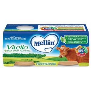 MELLIN OMOGENEIZZATO VITELLO 2 X 120 G