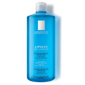 LIPIKAR GEL LAVANTE 750 ML