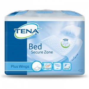 TRAVERSA PER INCONTINENZA TENA BED PLUS RIMBOCCABILE 80X180 CM PLUS 20 PEZZI
