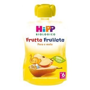 HIPP BIO FRUTTA FRULLATA PERA MELA 90 G