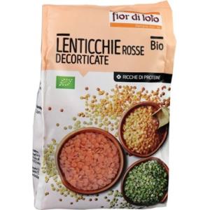 LENTICCHIE PICCOLE ROSSE DECORTICATE BIO 400 G