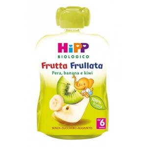 HIPP BIO FRUTTA FRULLATA PERA BANANA KIWI 90 G