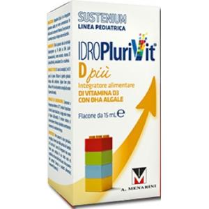 IDROPLURIVIT D+ SUSTENIUM 15 ML