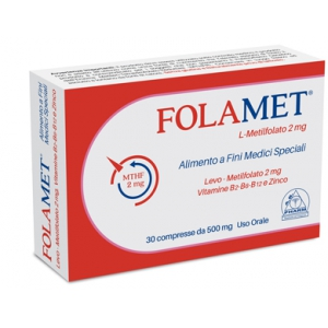 FOLAMET 30 COMPRESSE 500 MG