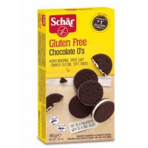SCHAR CHOCOLATE O'S BISCOTTI 165 G