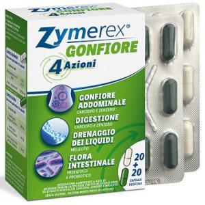 ZYMEREX GONFIORE 20 + 20 CAPSULE VEGETALI